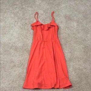 Mossimo peach dress
